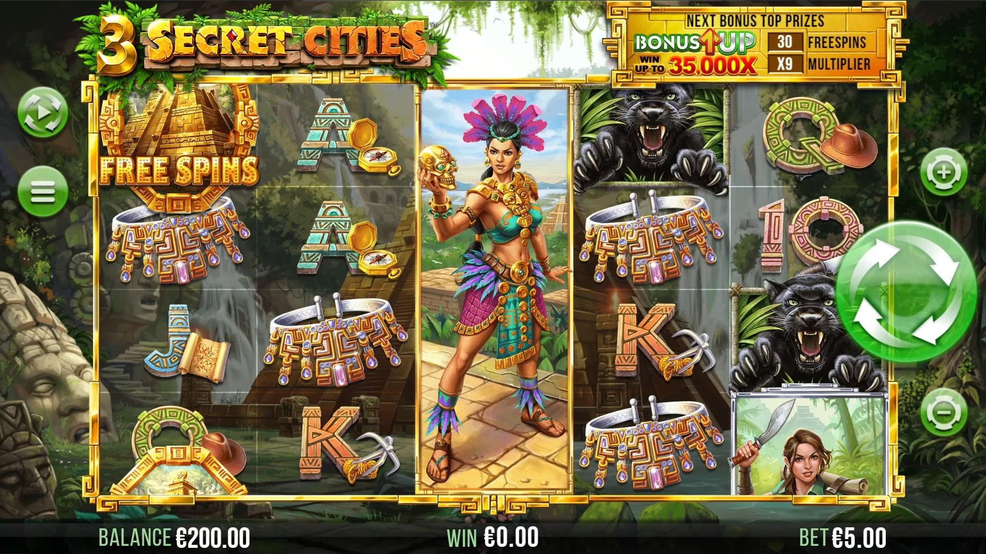 3 Secret Cities Screenshot