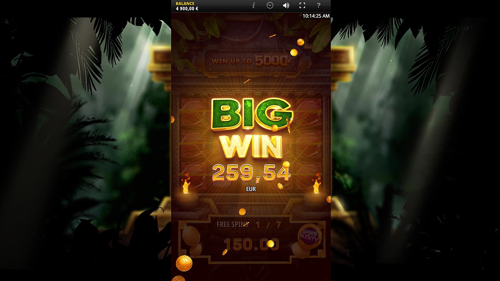 Aztec Luck Screenshot