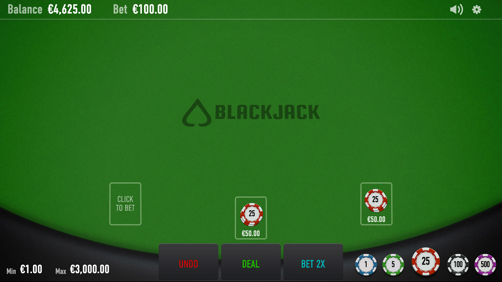 Blackjack Neo Screenshot