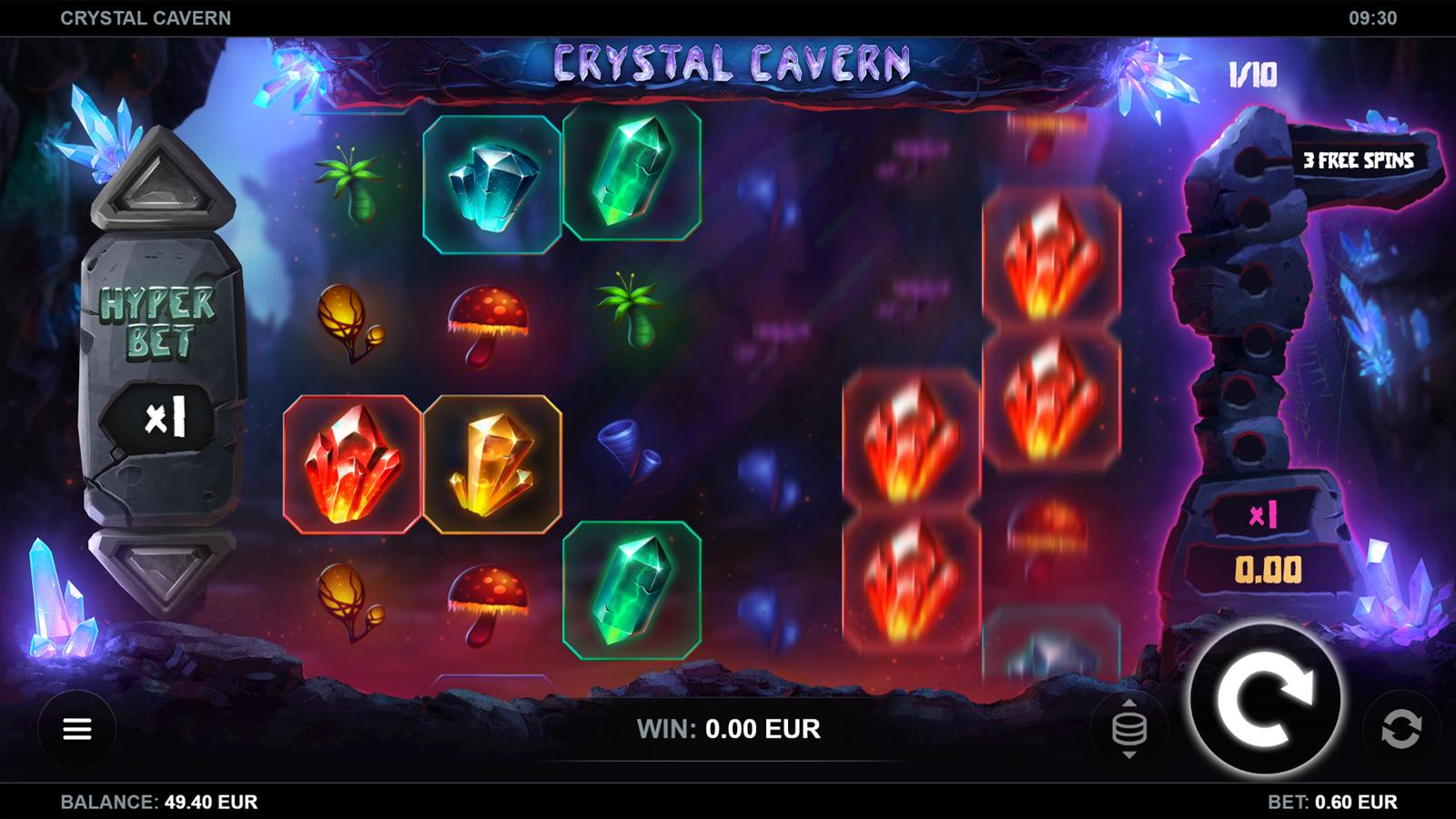 Crystal Cavern Screenshot