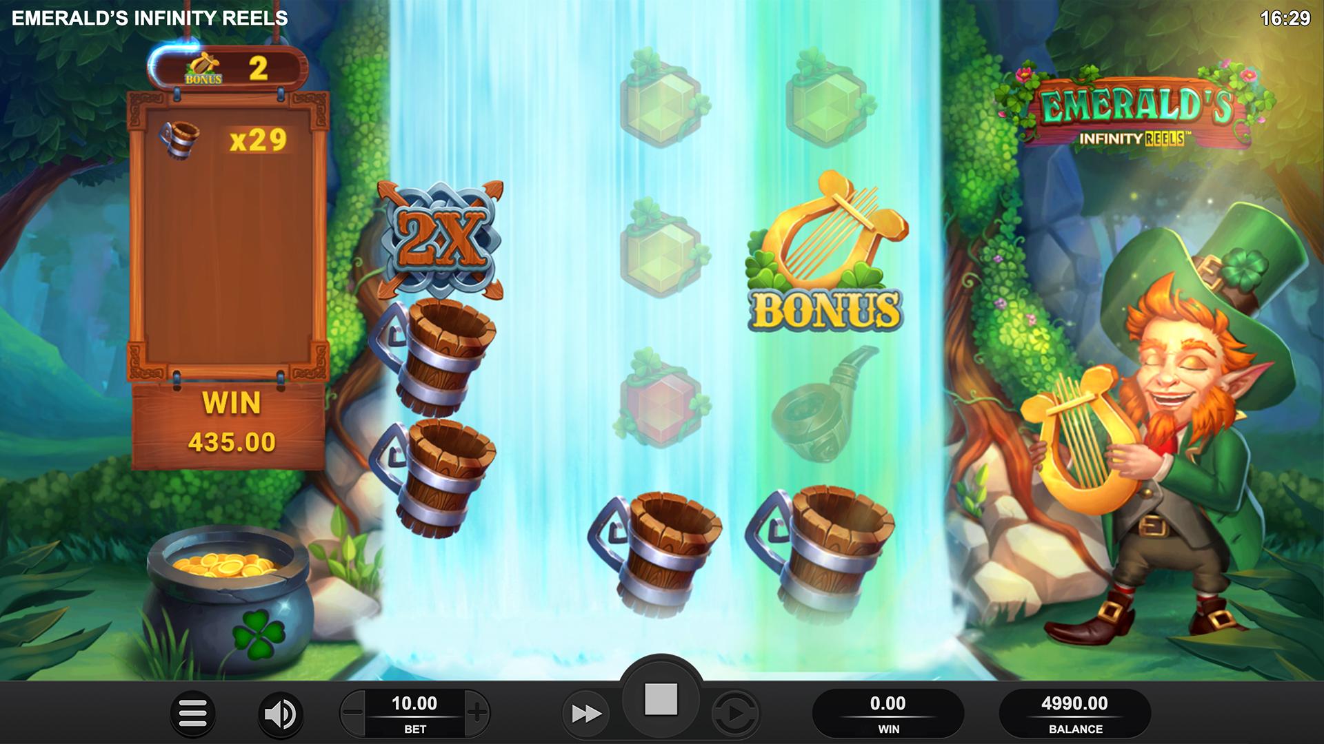Emerald's Infinity Reels Screenshot
