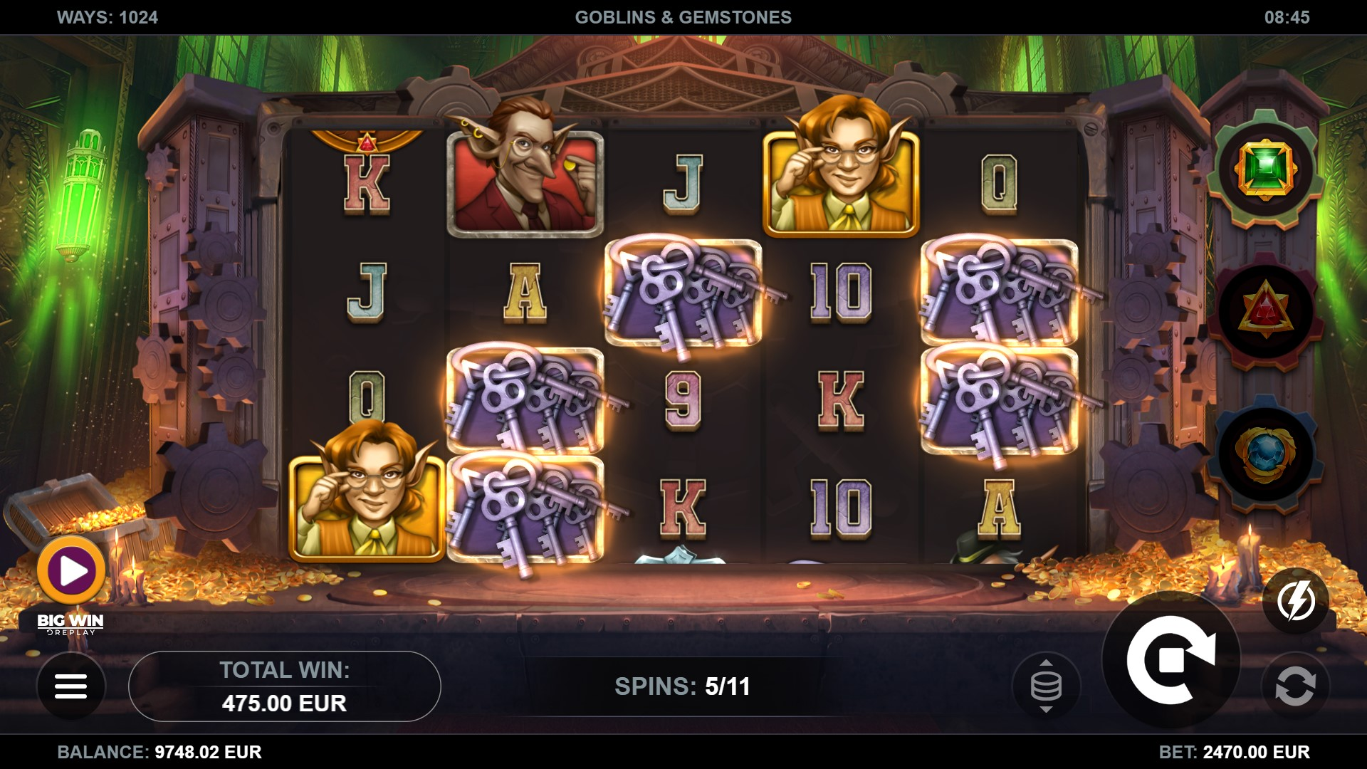 Goblins & Gemstones Screenshot