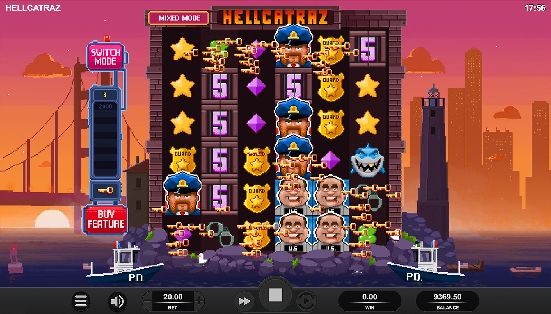 Hellcatraz Screenshot