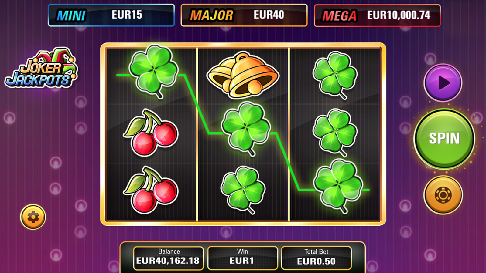 Joker Jackpots Screenshot