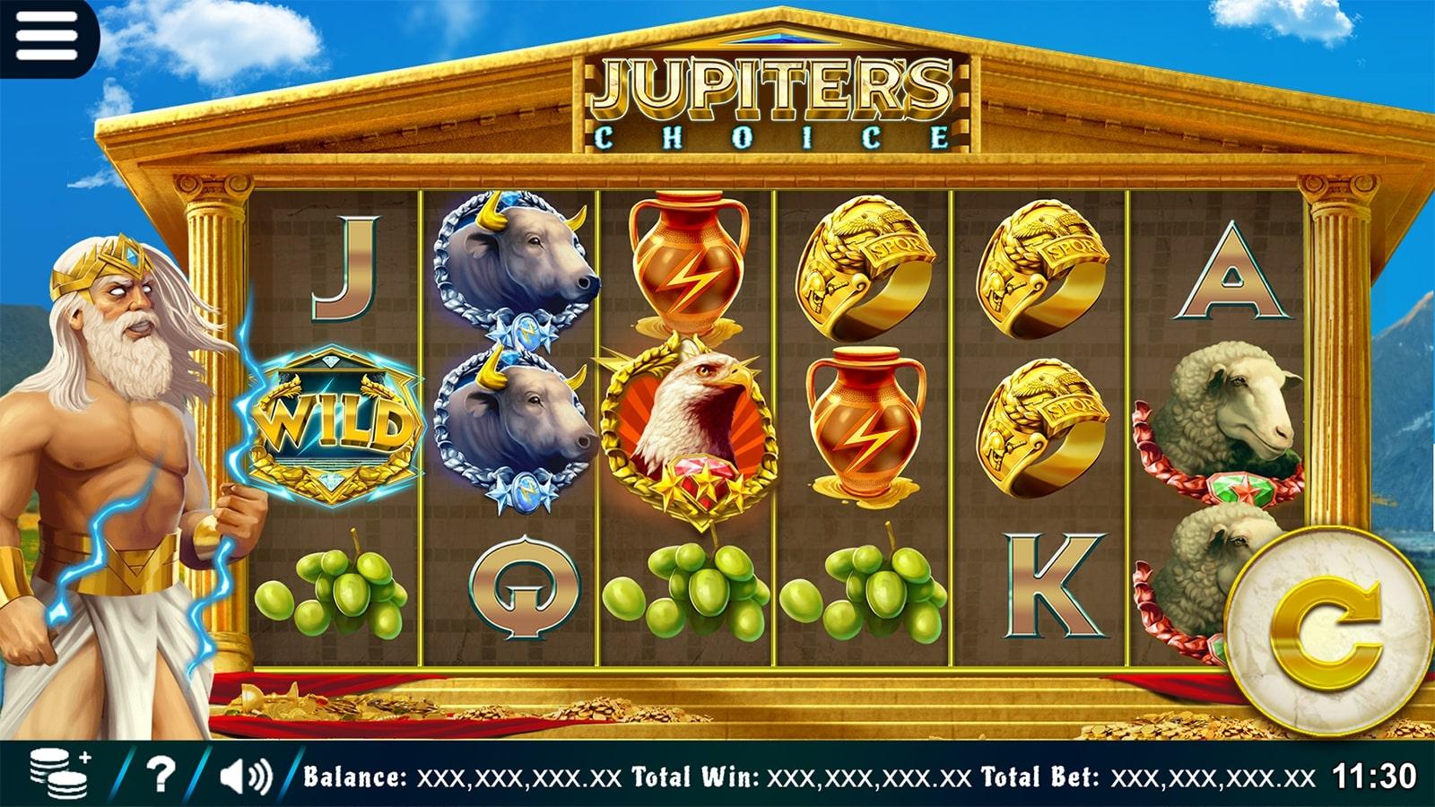 Jupiter's Choice Screenshot