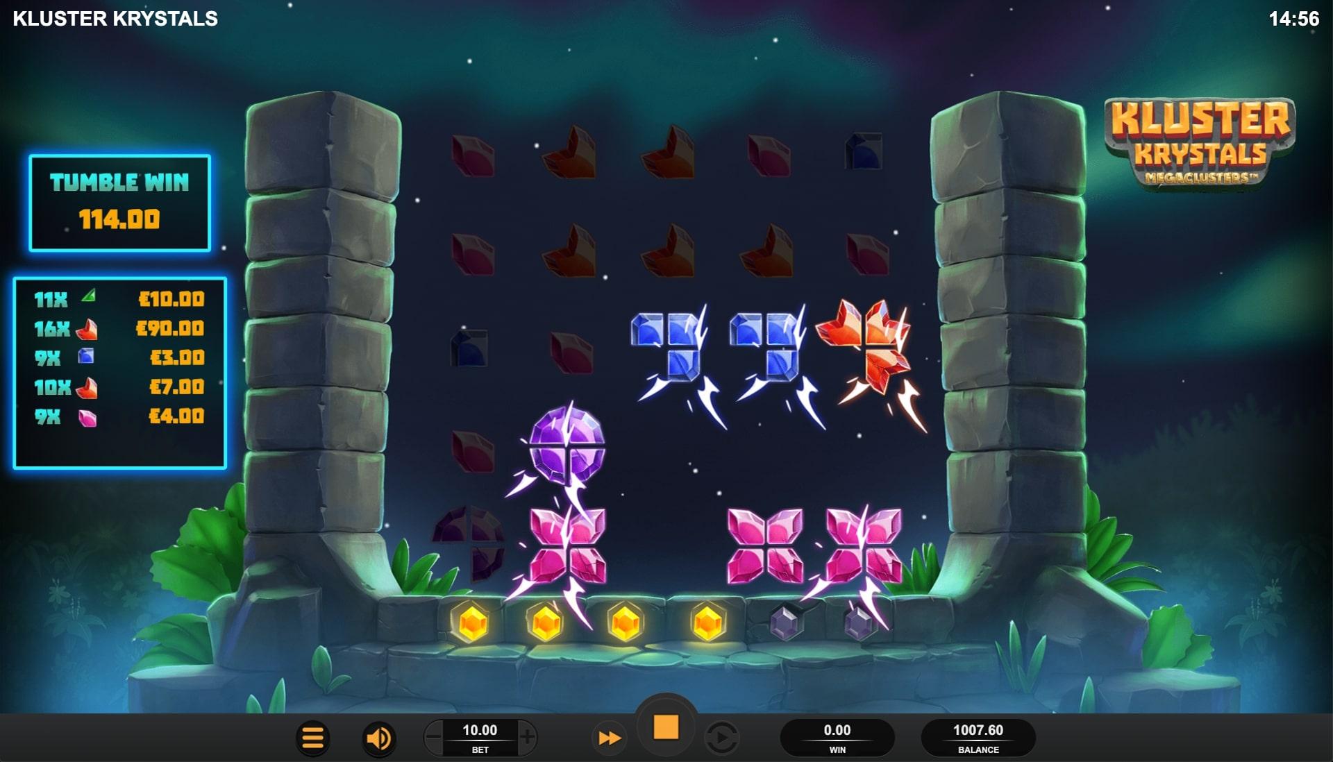 Kluster Krystals Megaclusters Screenshot