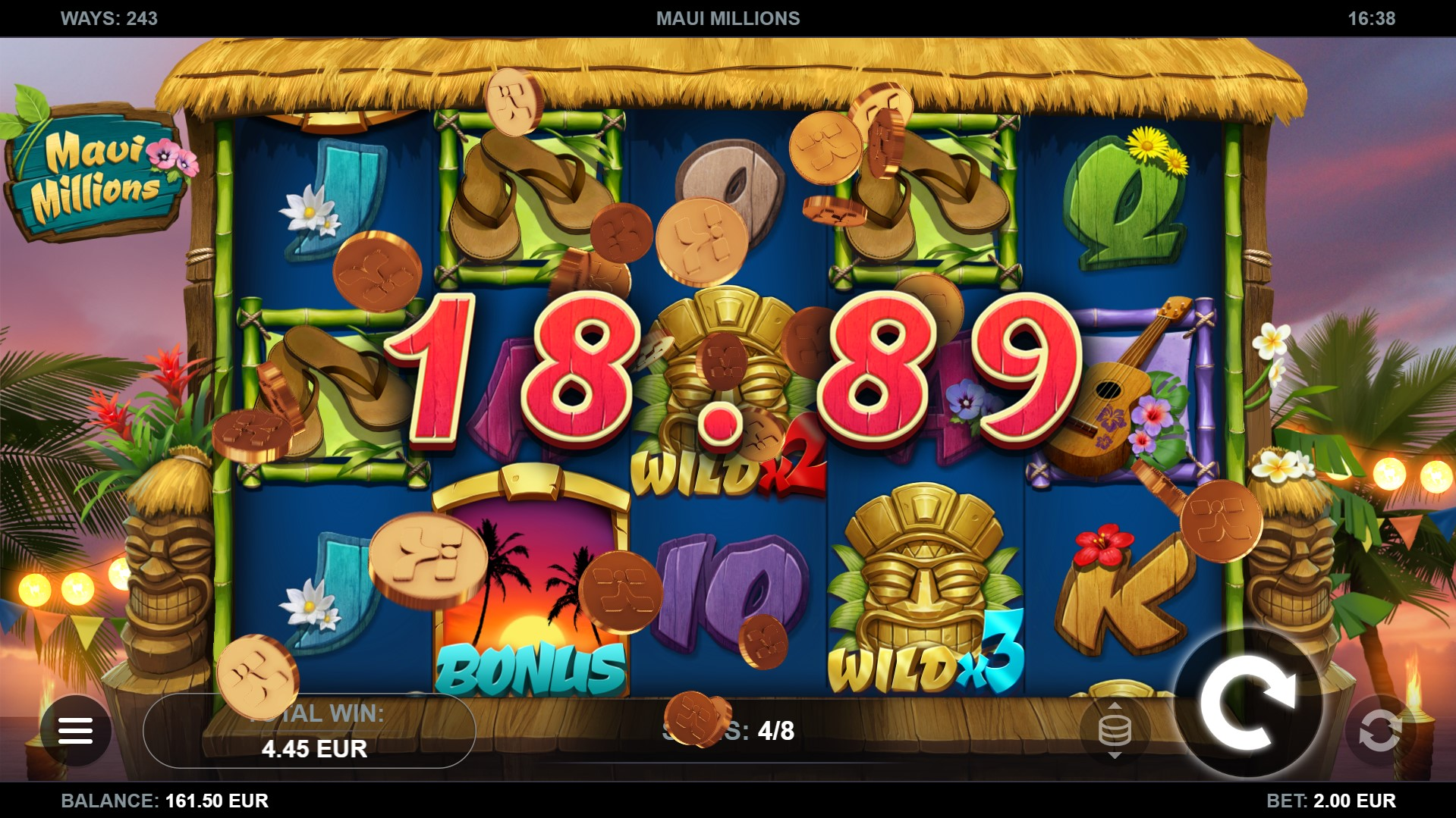 Maui Millions Screenshot