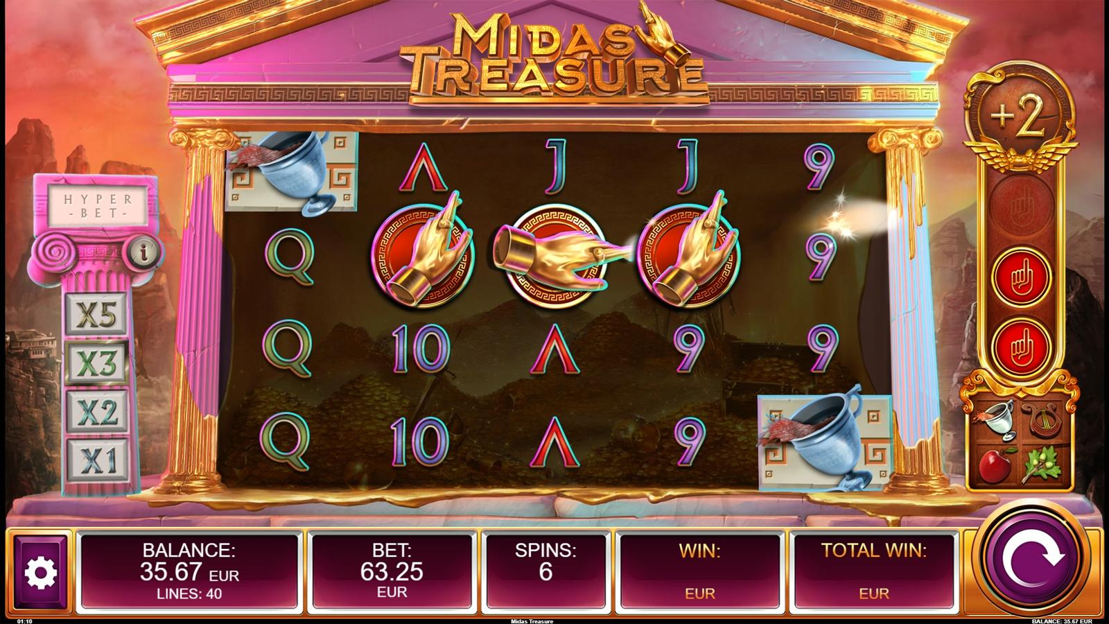 Midas Treasure Screenshot