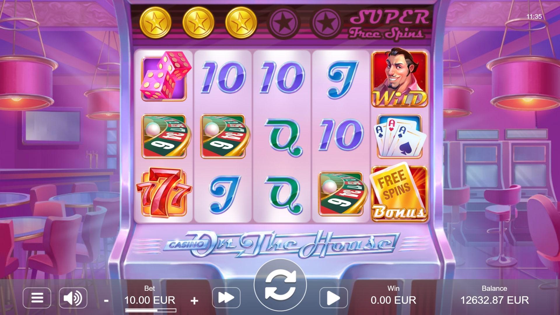 Casino On the House Screenshot