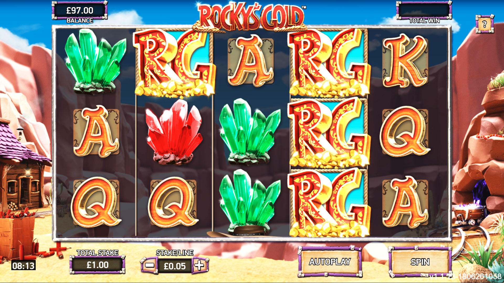 Rocky's Gold Screenshot