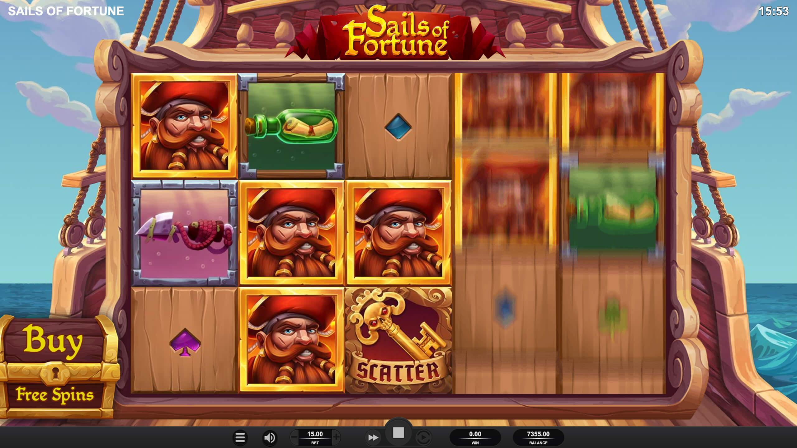 Sails of Fortune Screenshot