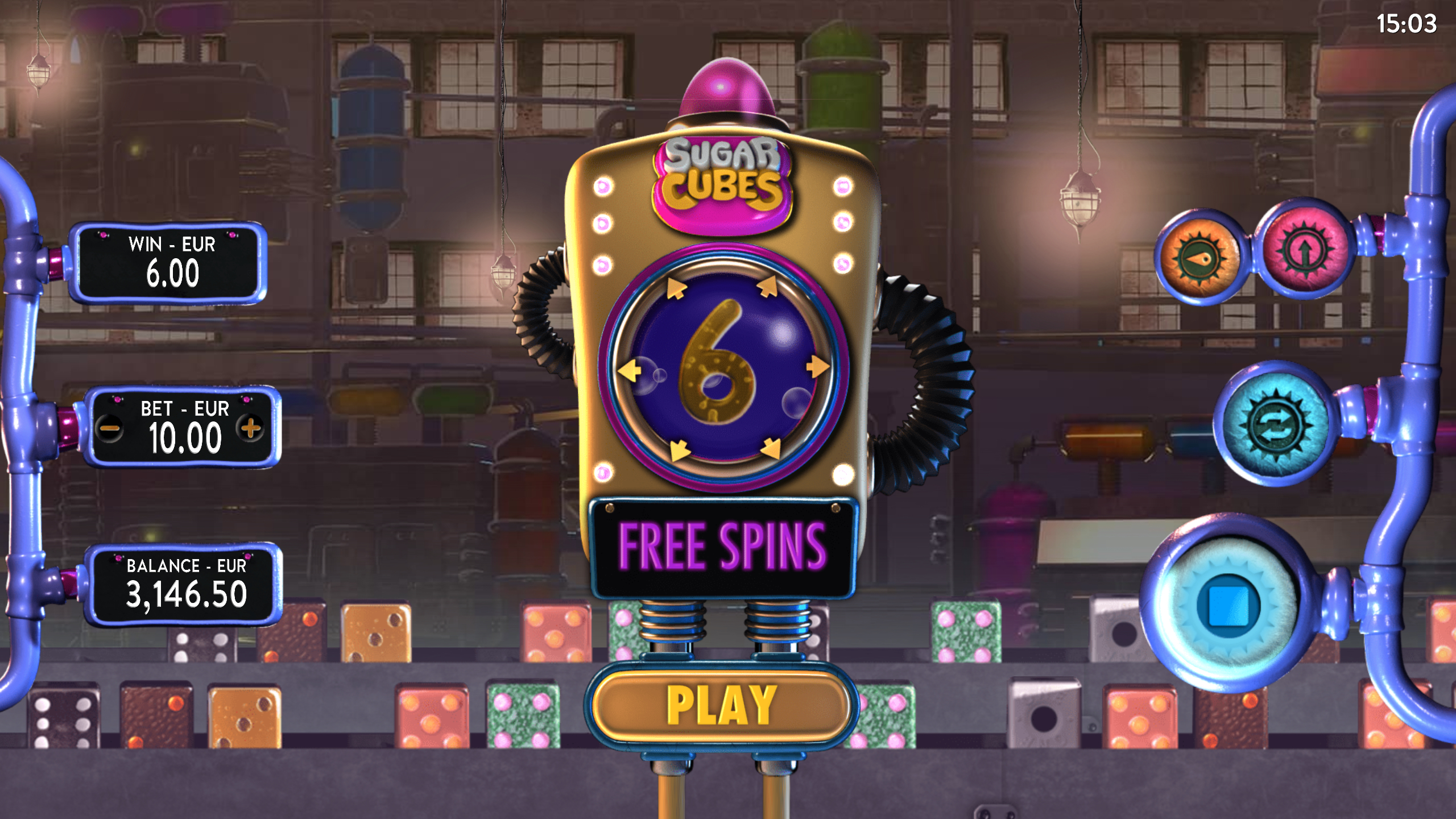 Sugar Cubes Screenshot