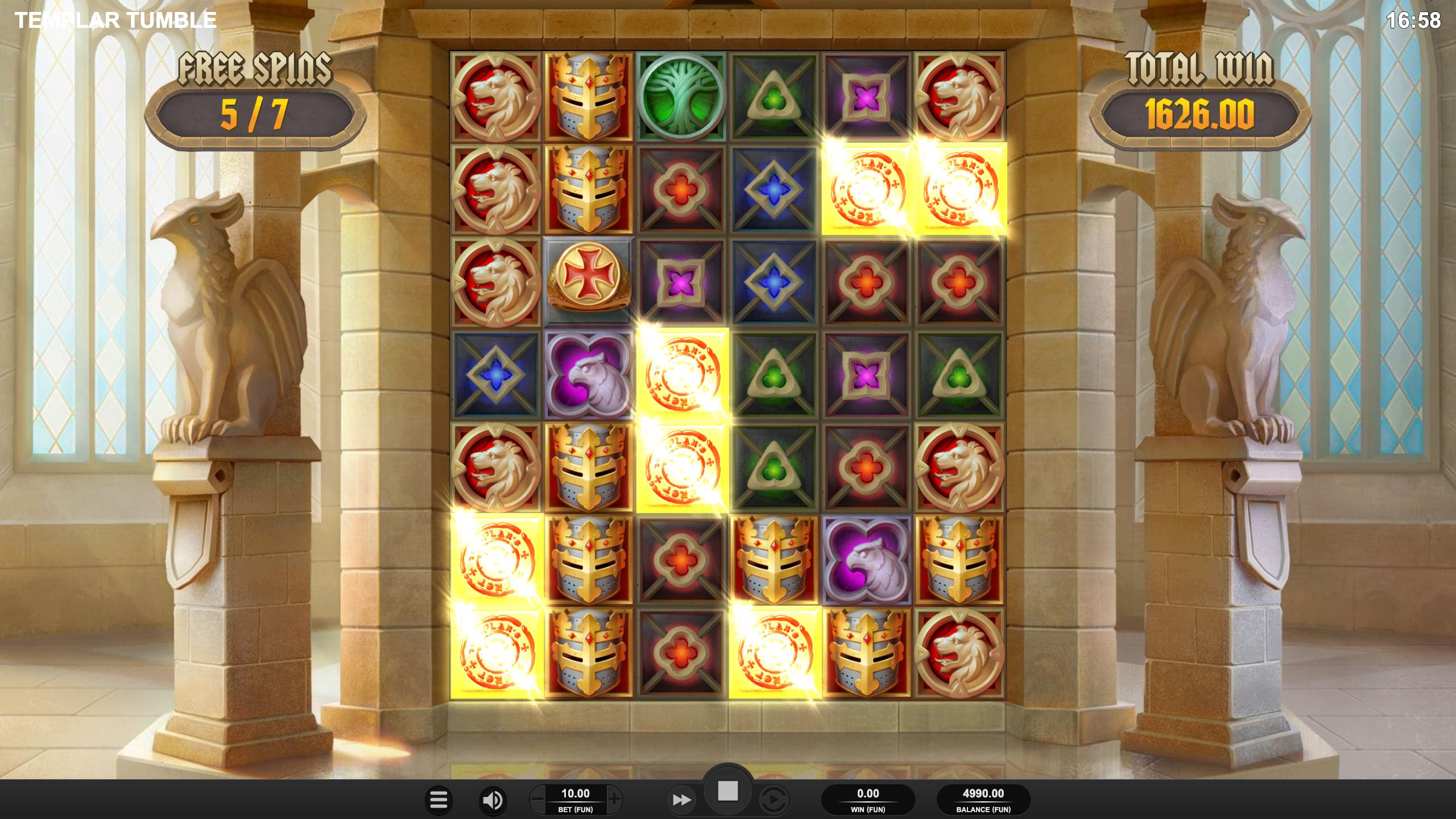 Templar Tumble Screenshot