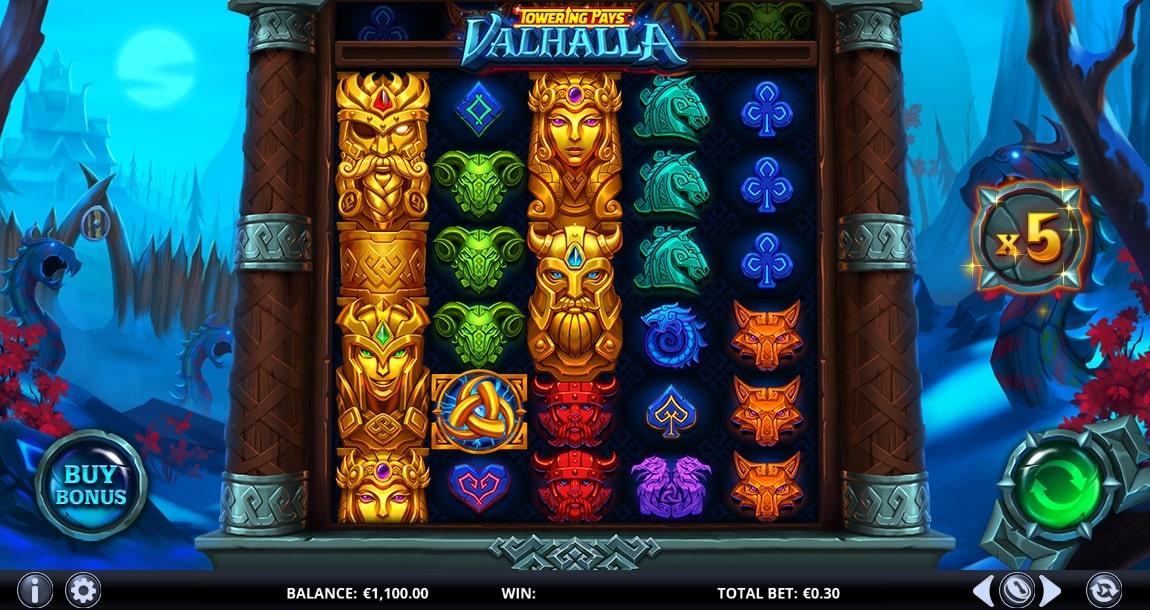 Towering Pays Valhalla Screenshot