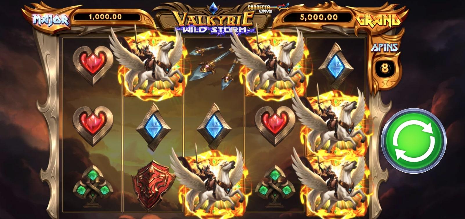 Valkyrie Wild Storm Screenshot