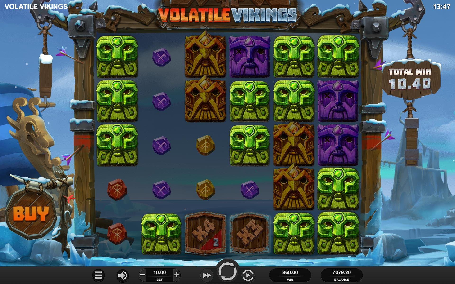Volatile Vikings Screenshot
