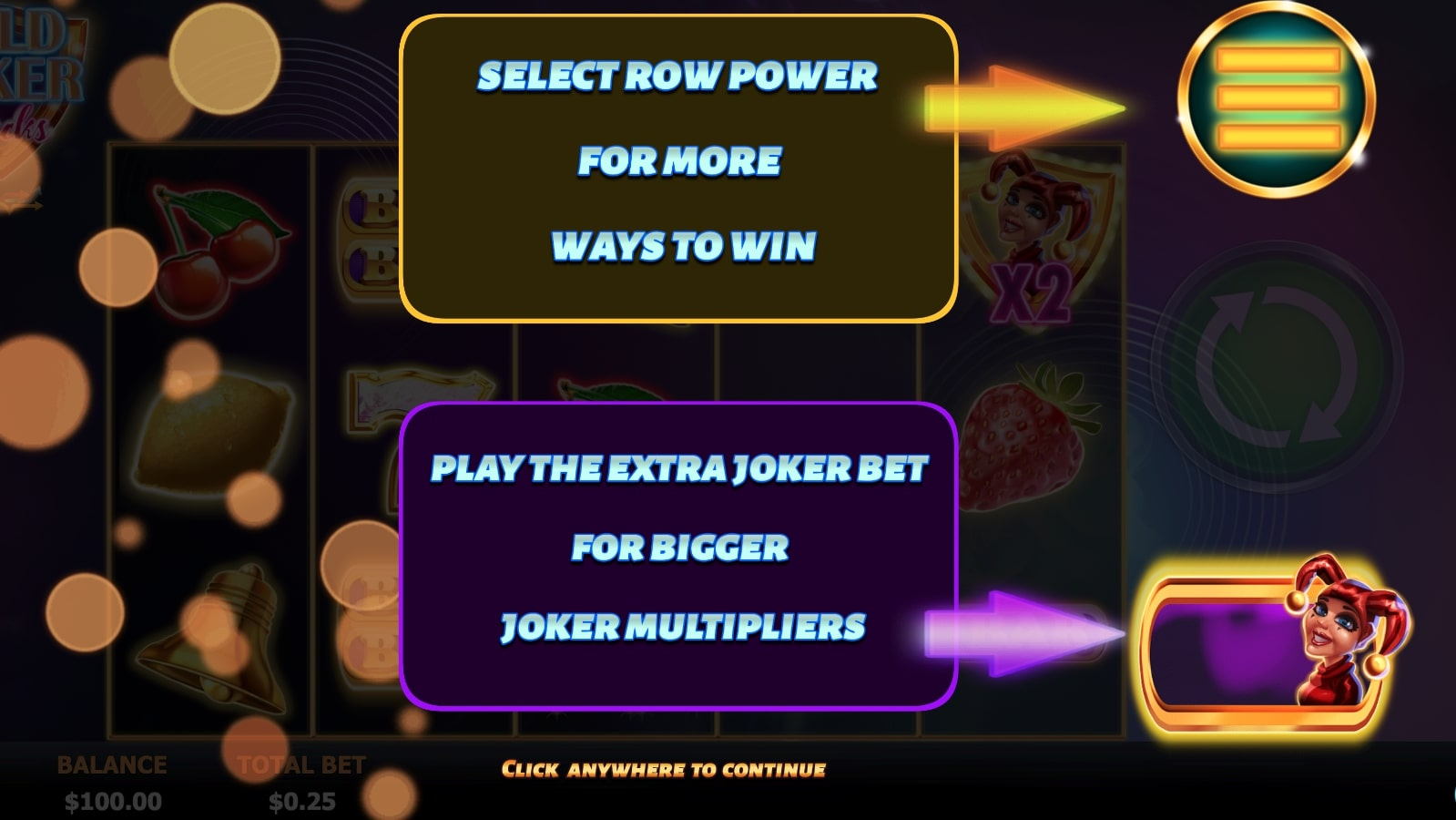 Wild Joker Stacks Screenshot